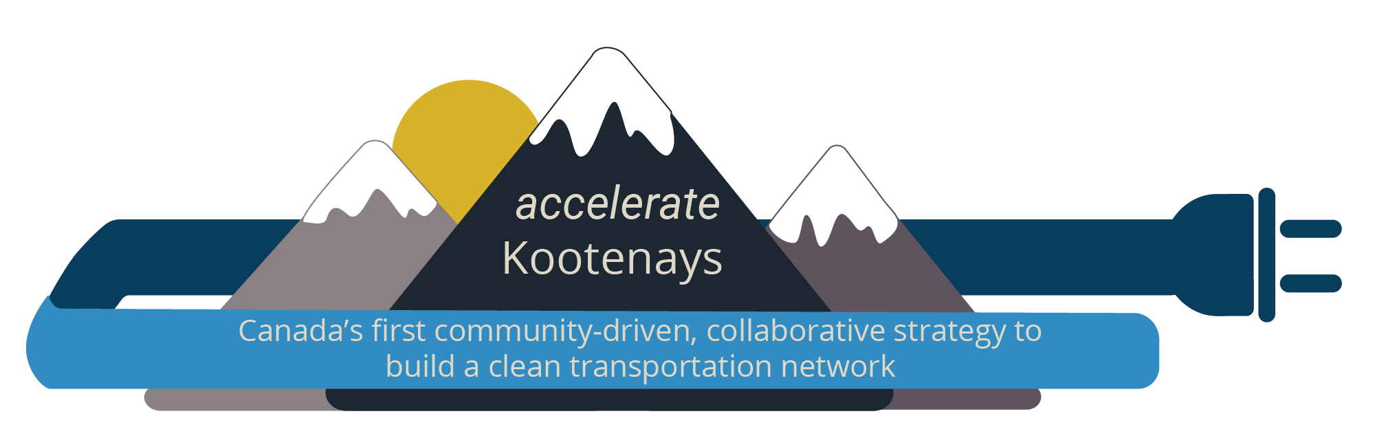 mountain graphic of accelerate Kootenays