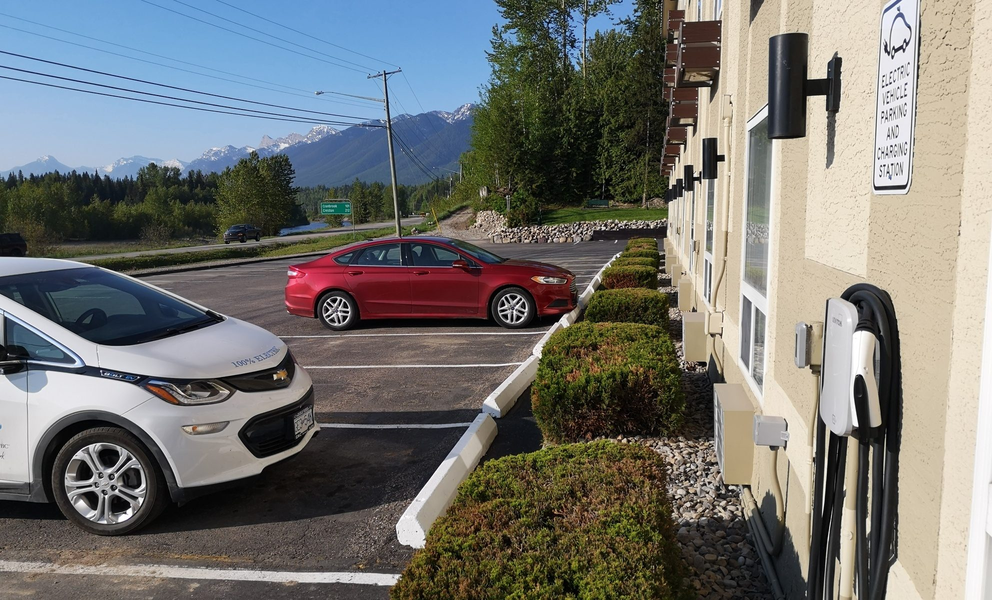 Level 2 Charger at Fernie Super 8
